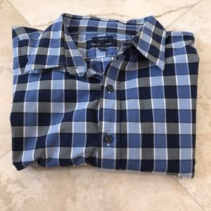 4/$25 Gap classic fit blue Button Up Shirt